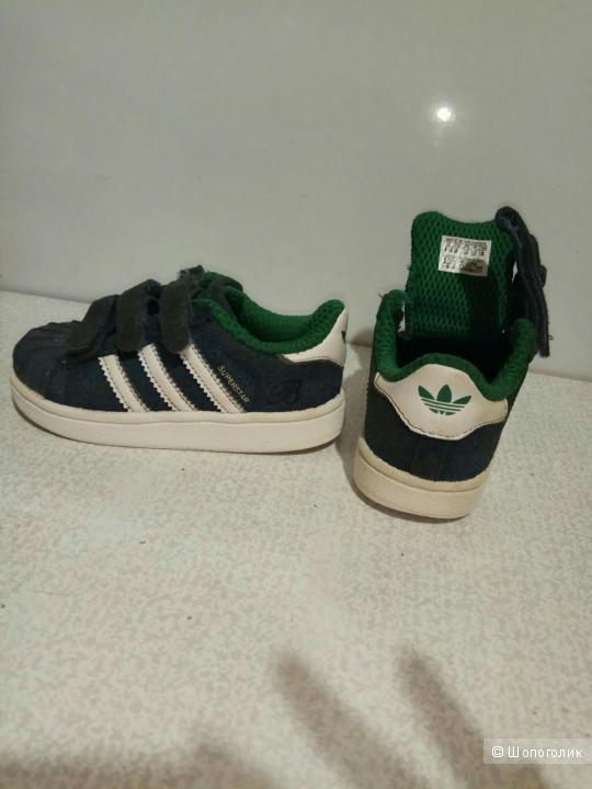 Кроссовки Adidas Superstar 23 маркировка