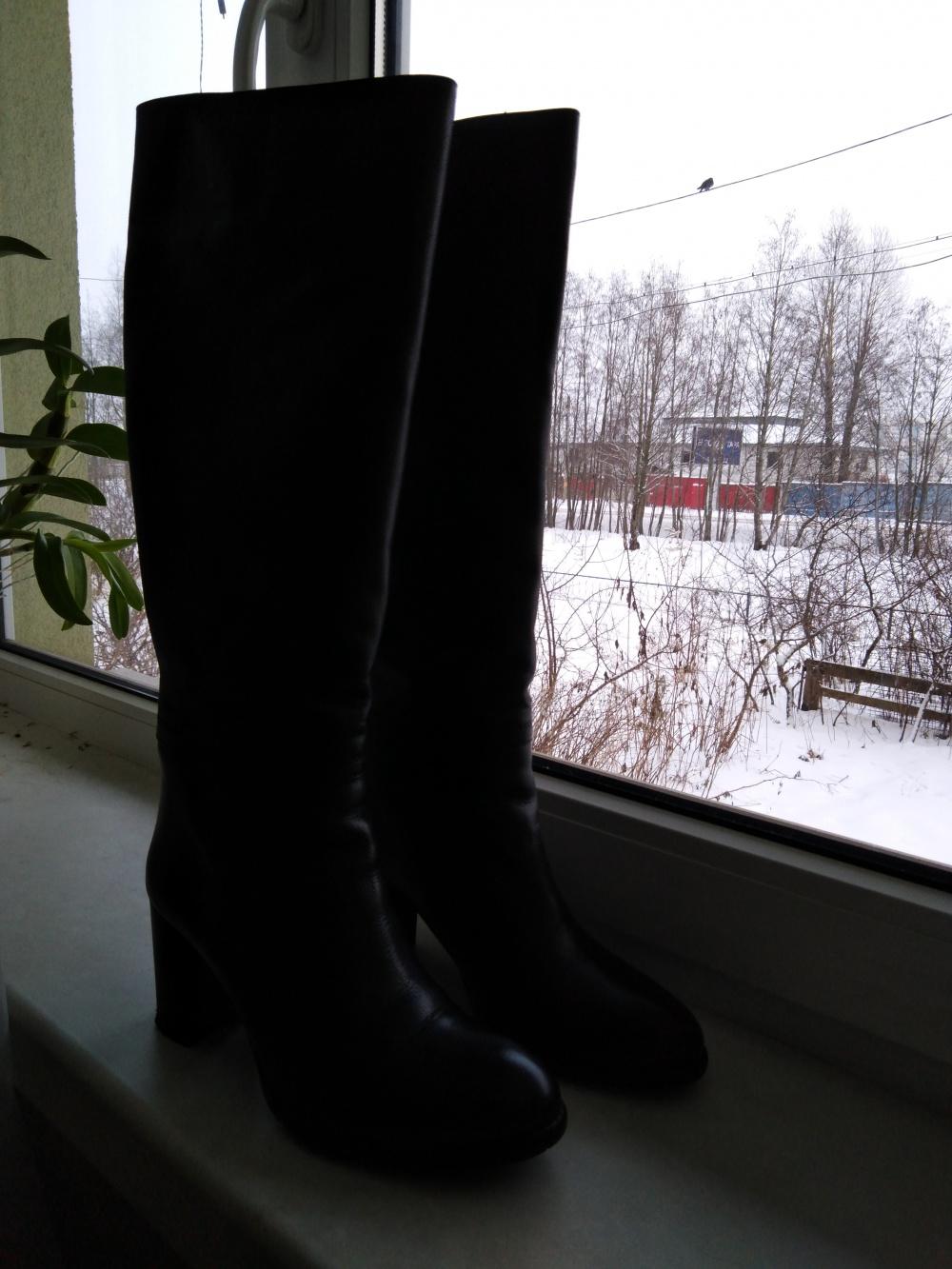 Сапоги евро-зима. RiaRosa. Р-р 39.