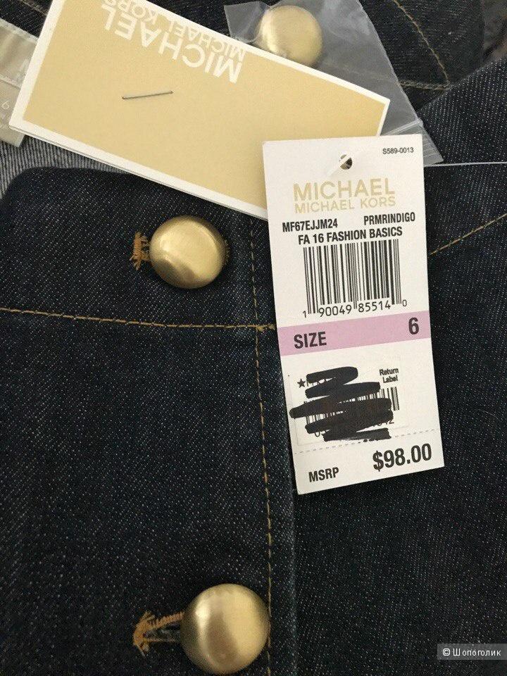 Джинсовая юбка от Michael Kors М