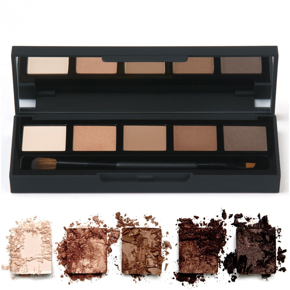 HD Brows Eyeshadow Palette - Foxy, 5x0.8g