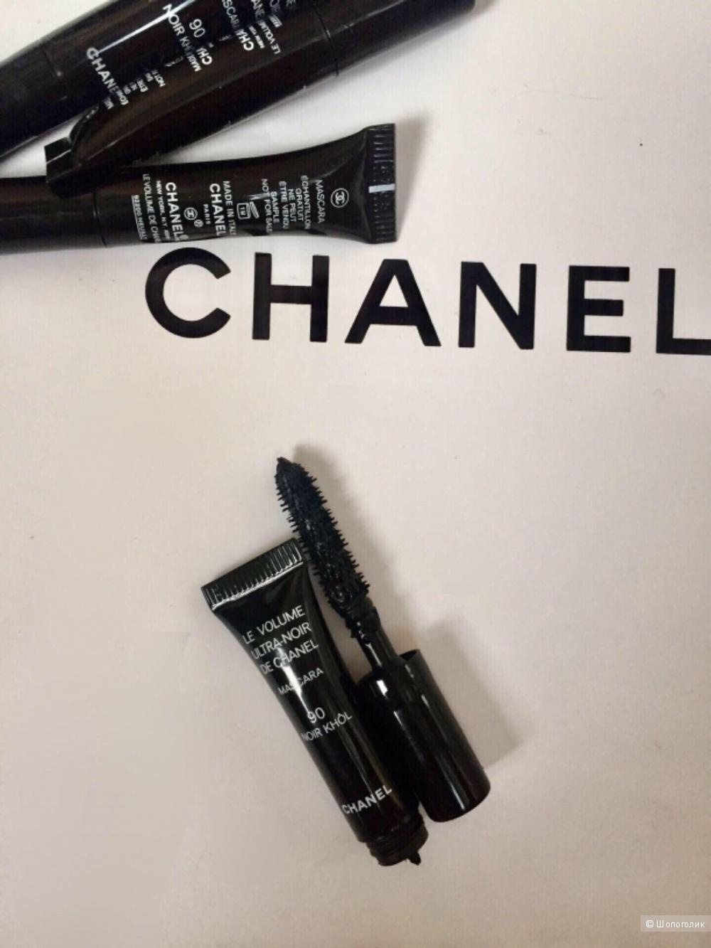 Миниатюры туши Chanel le volume ultra noir, 10 штук