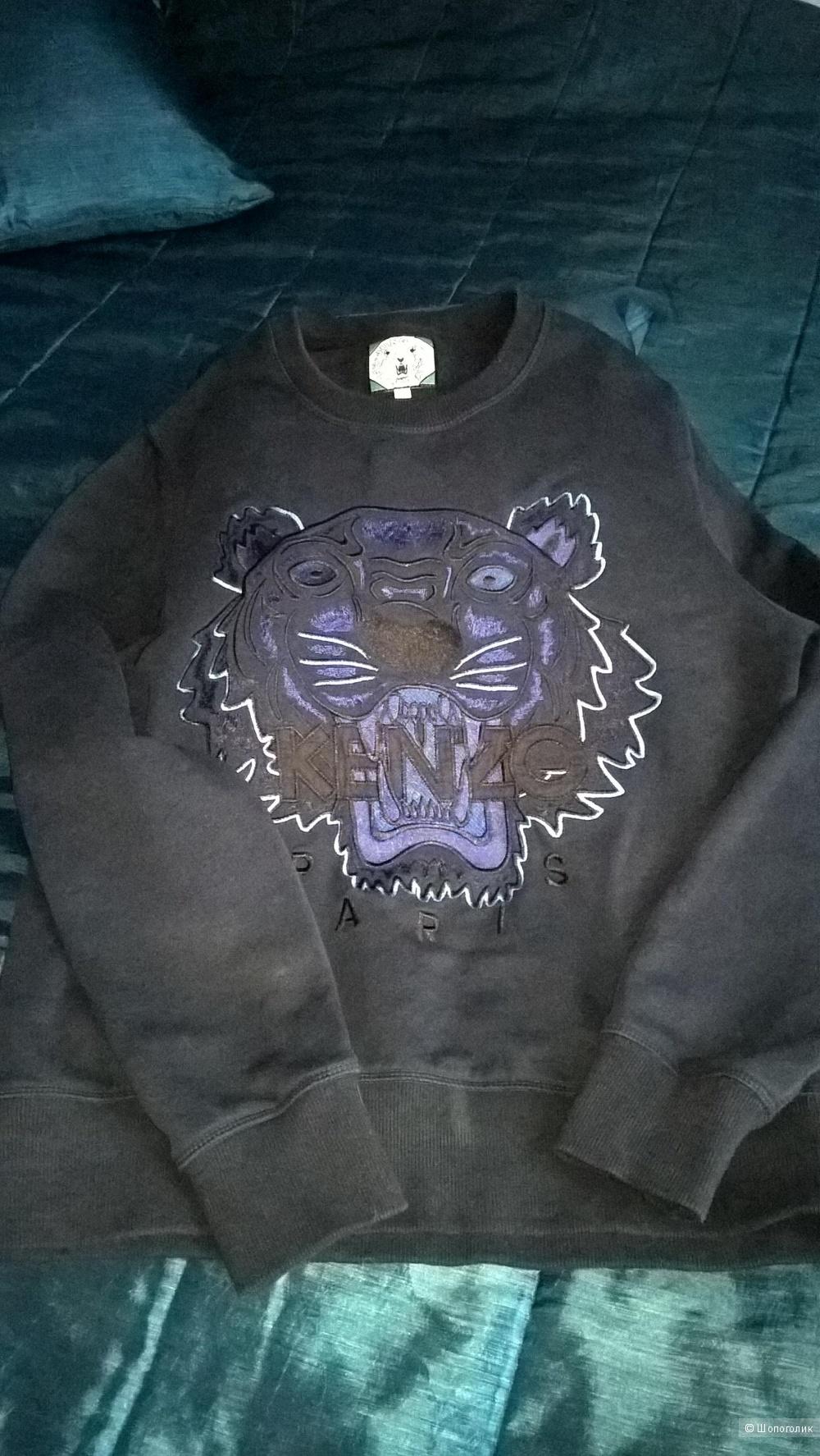 Толстовка KENZO с тигром,размер 44(S)
