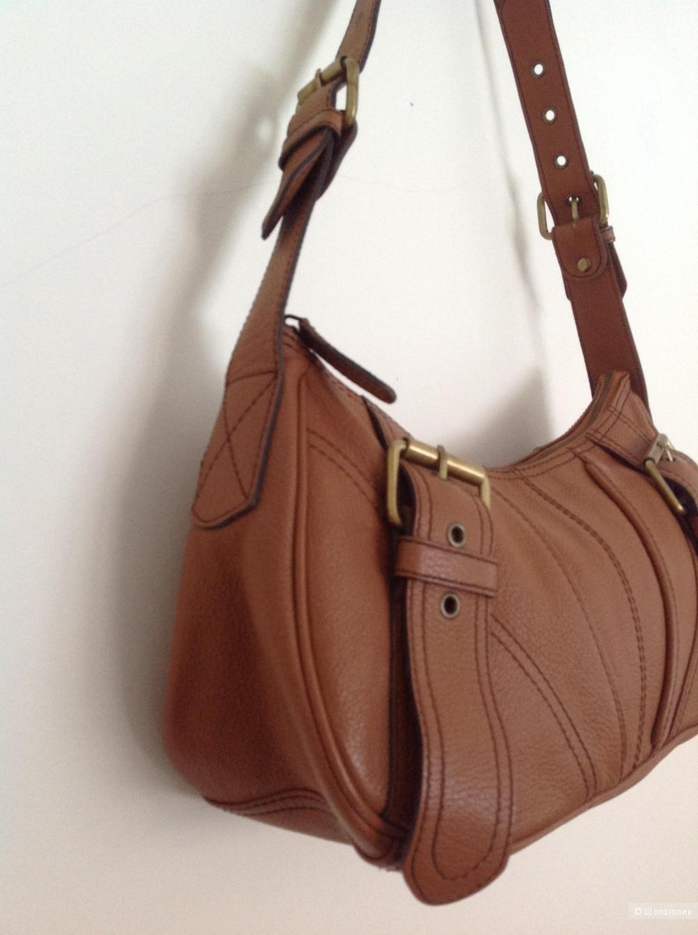 Кожаная сумка MNG, L