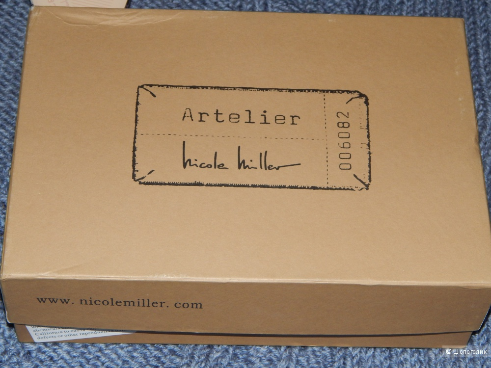 Туфли женские Niсole Miller,размер 39.
