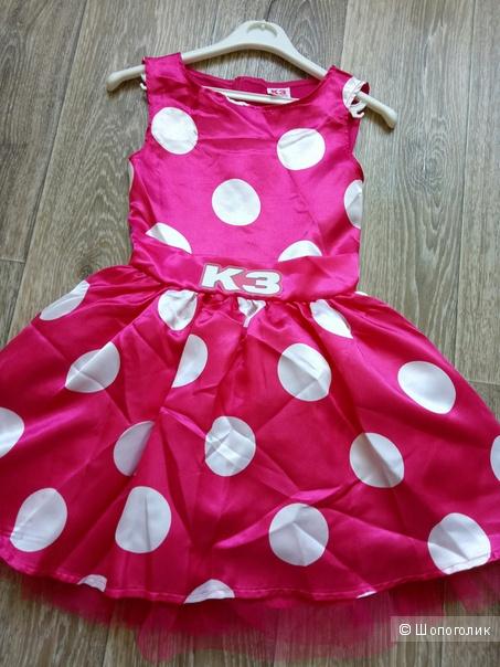 Платье k3 размер 4-6 лет