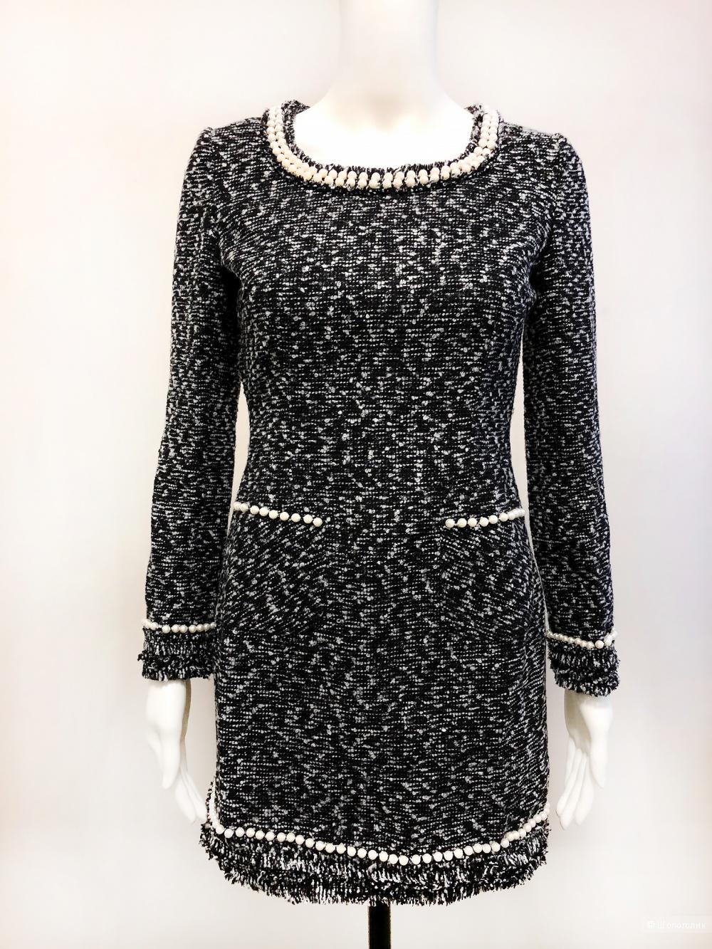 Шерстяное платье букле Style Track, размер S