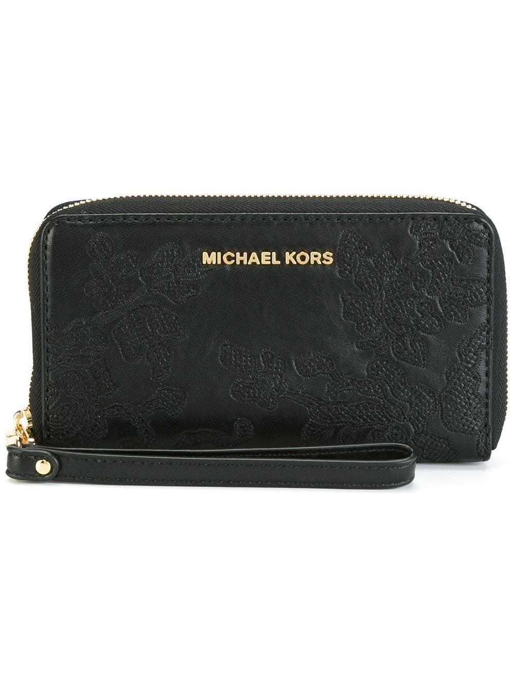 Кошелек MICHAEL MICHAEL KORS  'Jet Set Travel' с ремешком на запястье