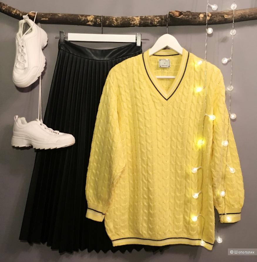 Пуловер DIX SUR DIX. Размер L.