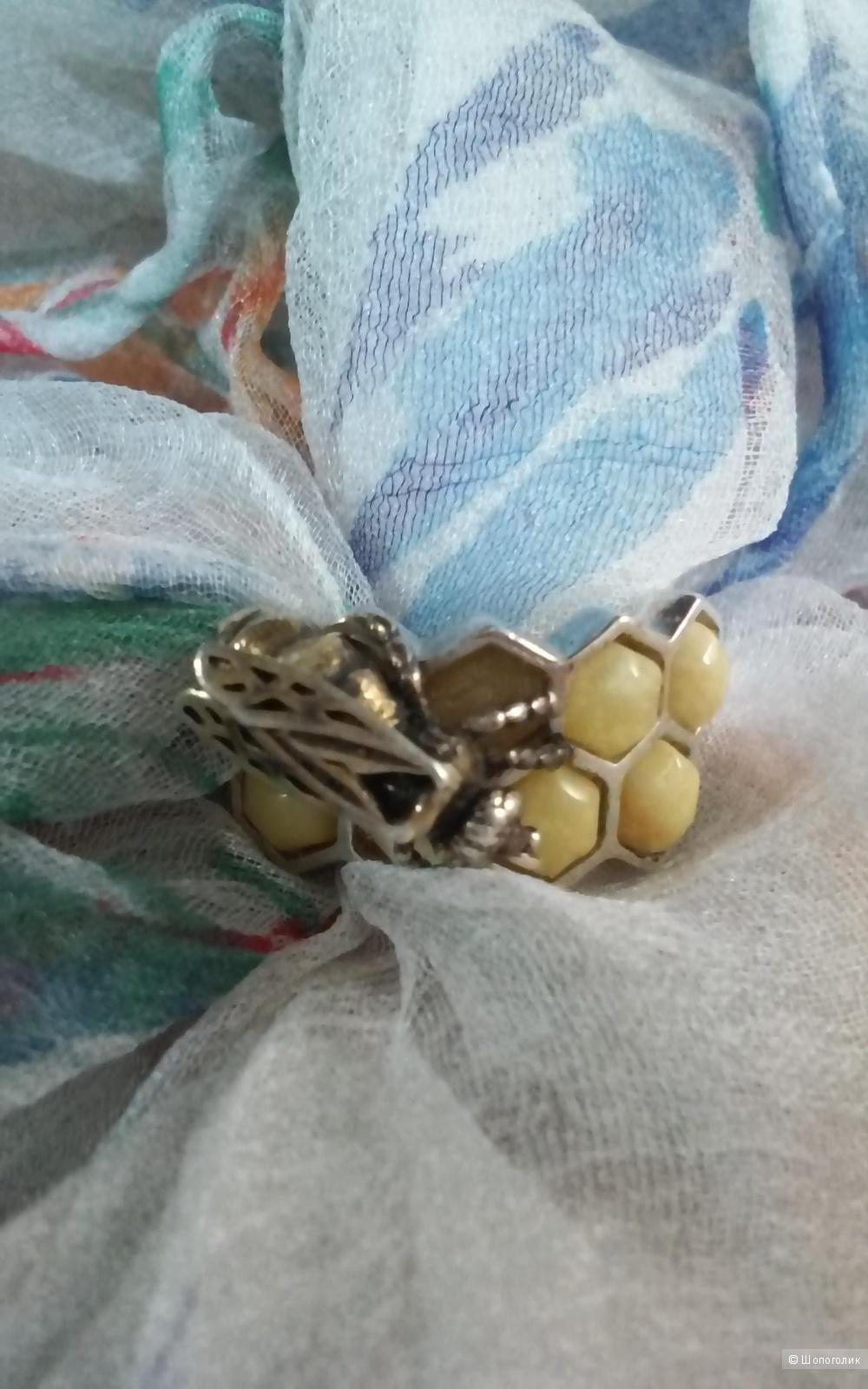 "Кольцо серебро 925 проба ""Балтийские узоры"" 20,5 размер"