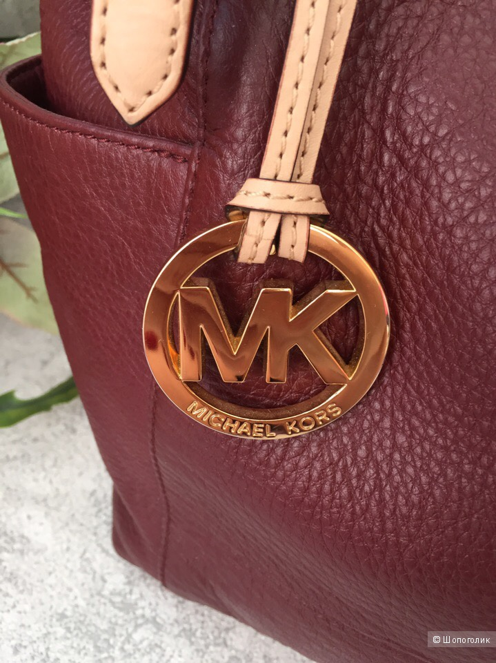 Сумка Michael Kors Jet Set Large, натуральная  кожа