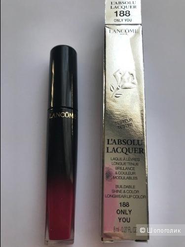 Lancome L'Absolu Lacquer Лаковая жидкая губная помада , оттенок 188