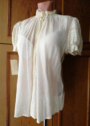 """Шелковая блузка """"Zara Woman"""", 48-50 (XL) размер"""
