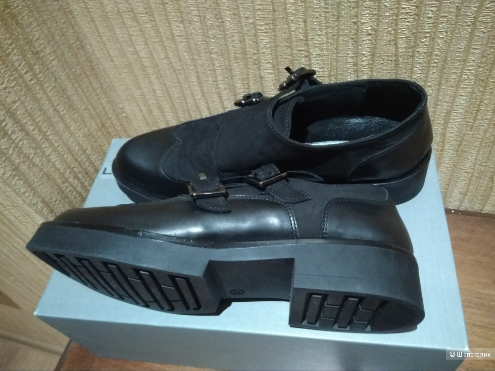 Мокасины туфли LEA FOSCATI размер 37