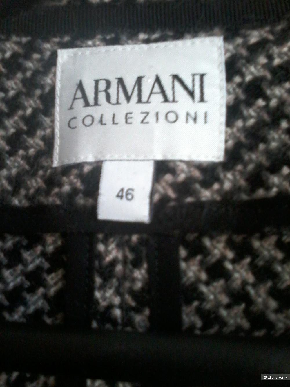 Шерстяной жакет Armani Collezioni 46 р-р