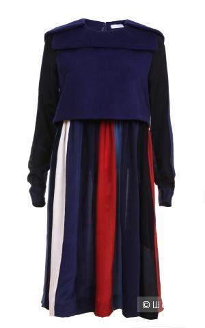 Шелковое платье с шерстью Style Track, размер S