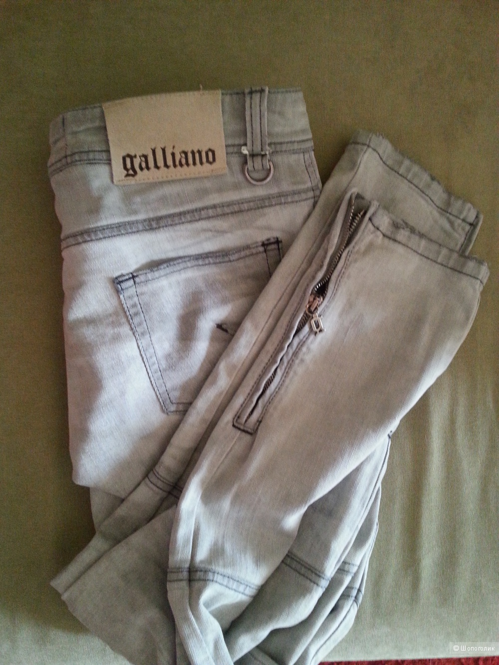 Джинсы Galliano,размер 27
