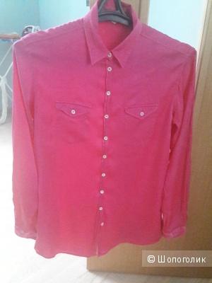 Шелковая блузка Mr.mrs .Shirt размер 46-48