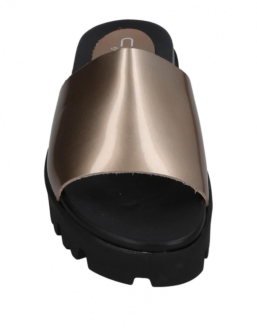 Кожаные шлепки-сабо CLAUDIA BY ISABERI, размер 38