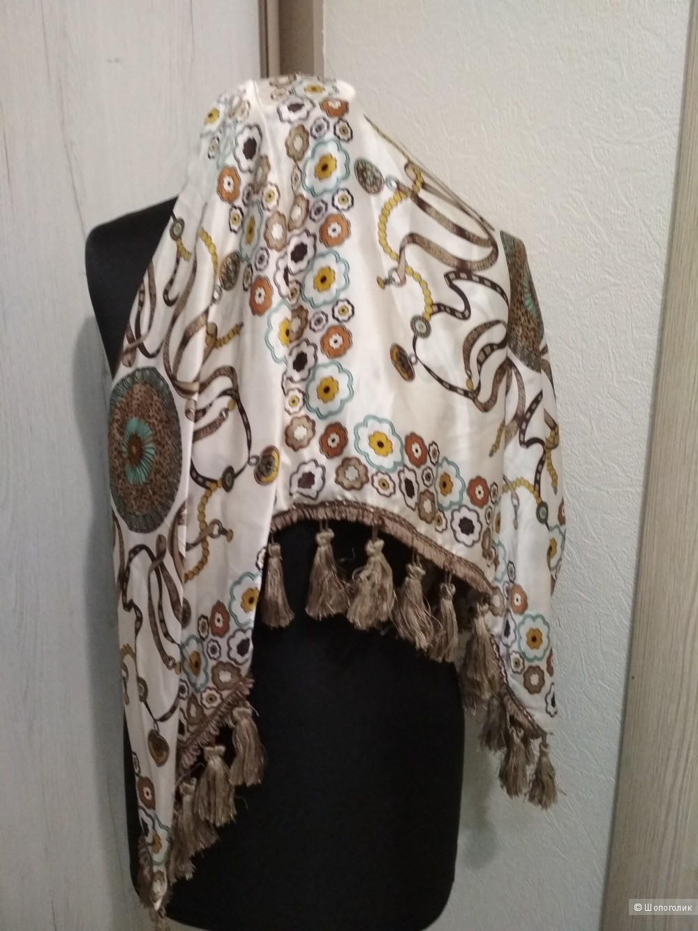 Шелковый шарф MUCHO GUSTO, one size