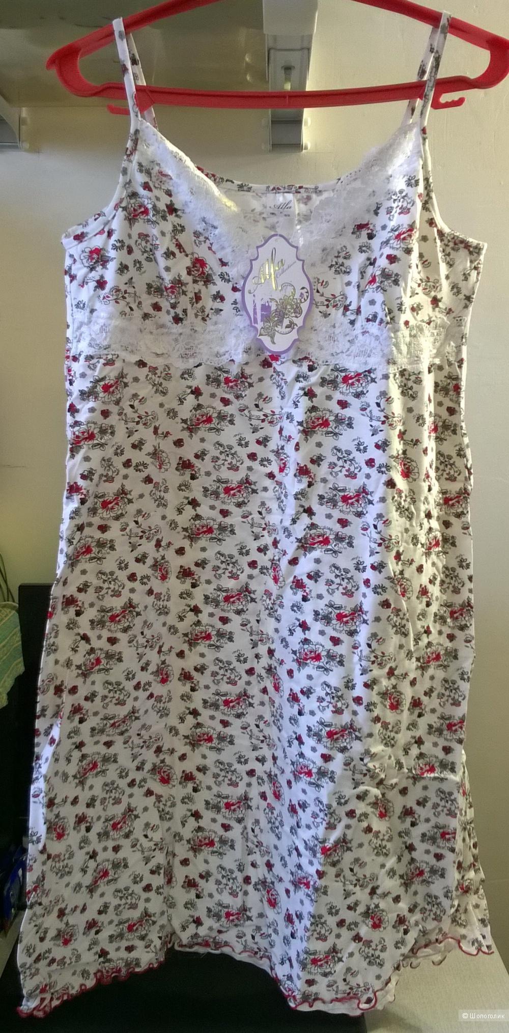 Сорочка ночная Alfa, размер 52