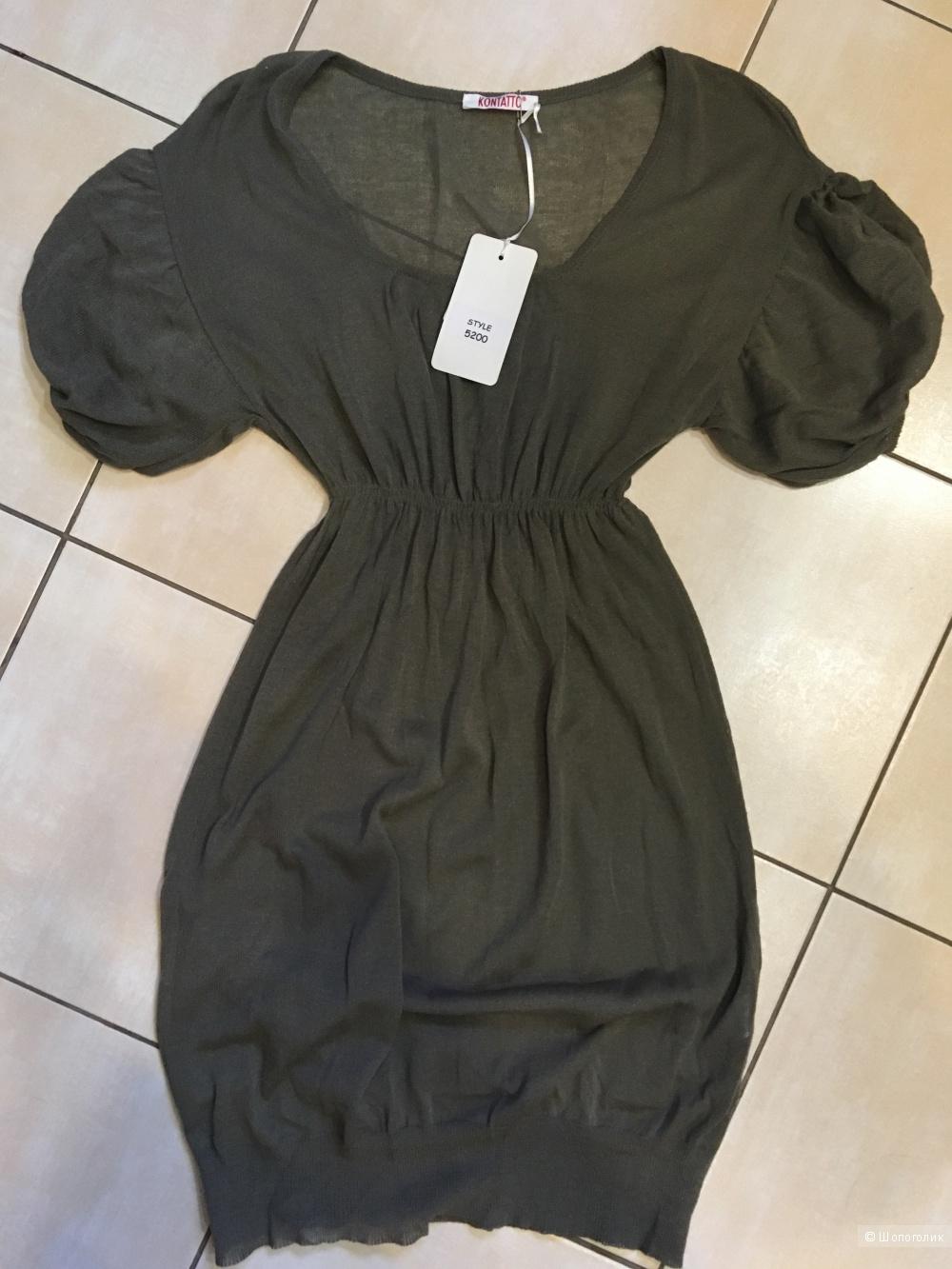 Платье - туника Kontatto , размер s-m ,