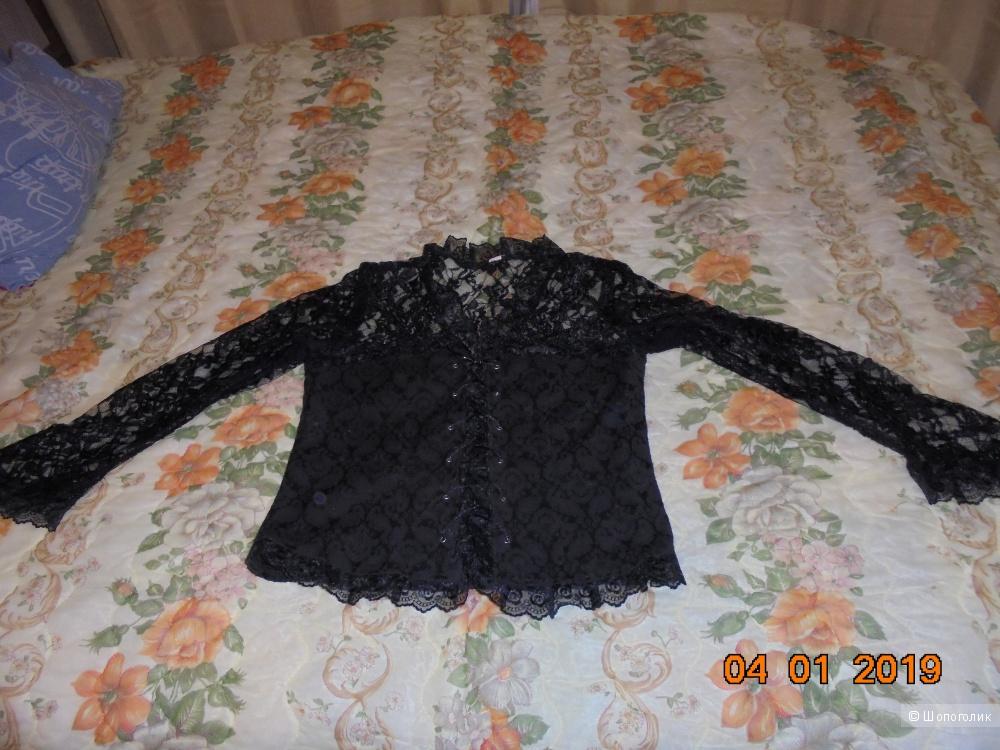 Сет блузка+клатч, ноу-нейм, 48-50