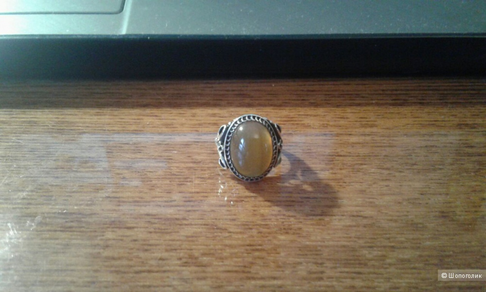 Серебряное кольцо 16 размер