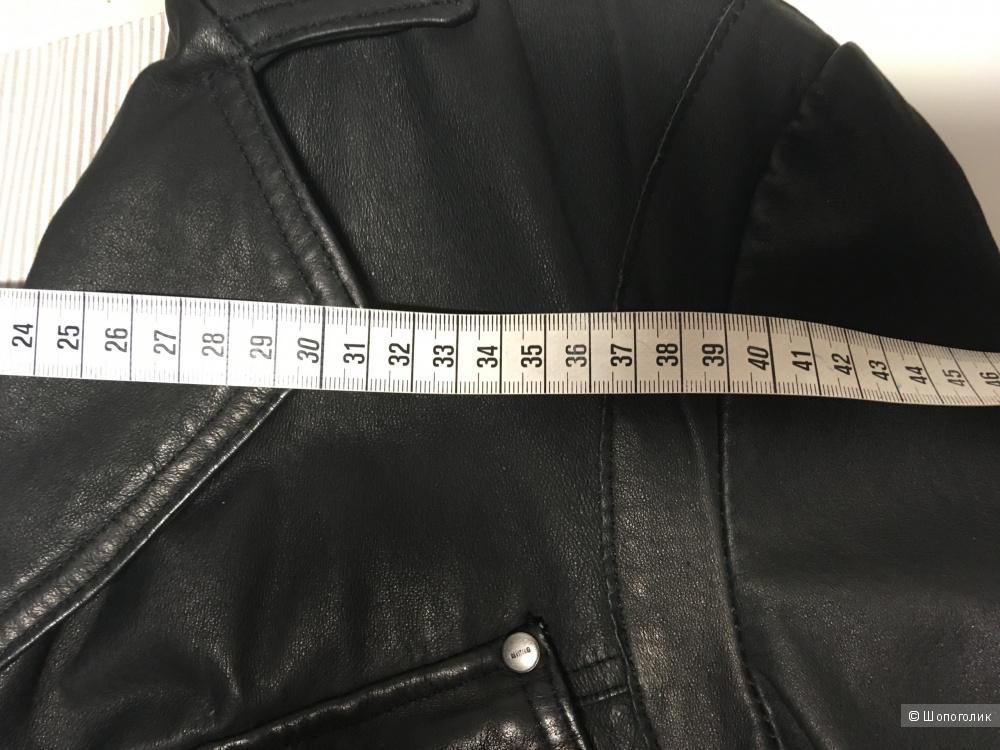 Кожаный пиджак Mustang размер XL