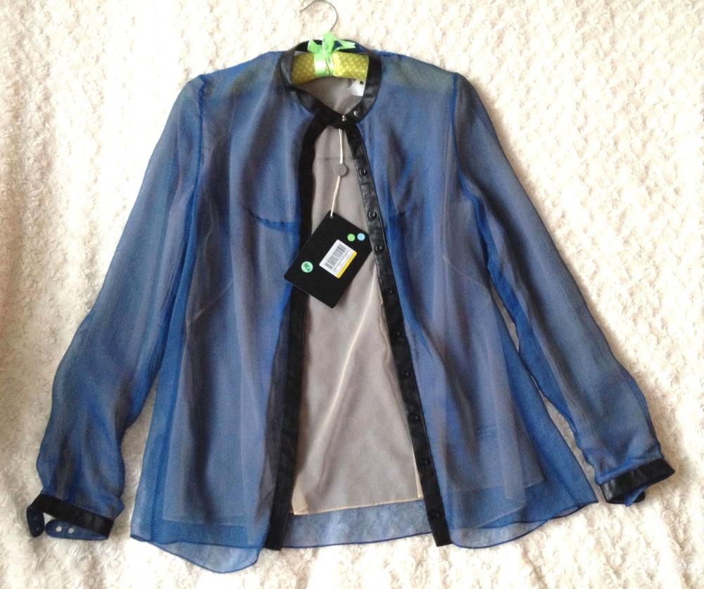 Блузка из шелка Marios Schwab размер 8 UK