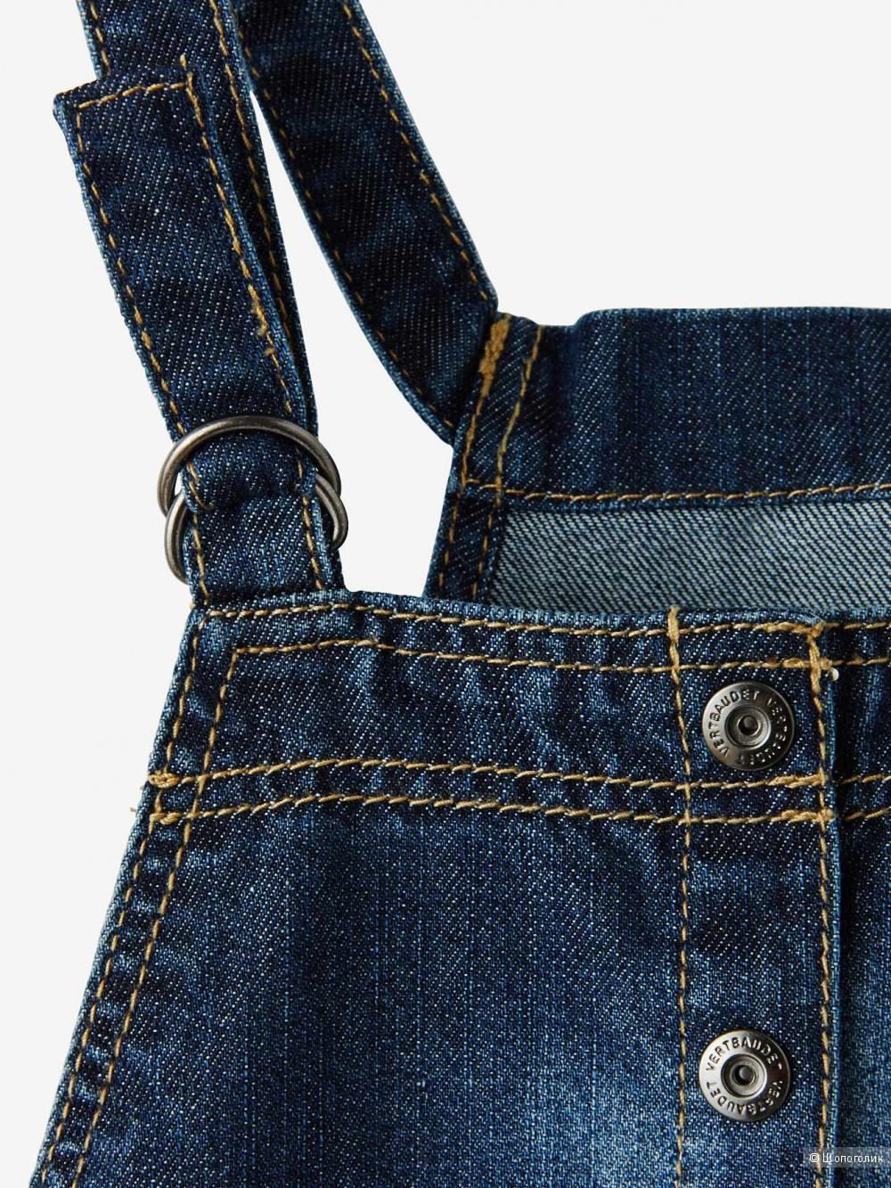 Сарафан/юбка джинсовый Verbaudet, размер 114