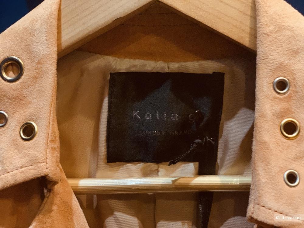 Кожаный жилет Katia J, размер S