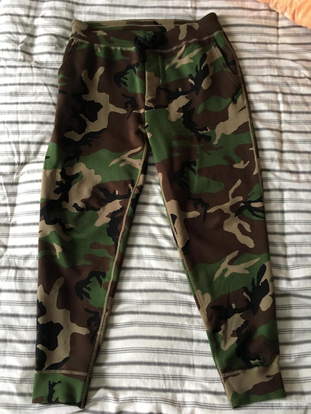 Ralph lauren камуфляжные штаны брюки джогеры M
