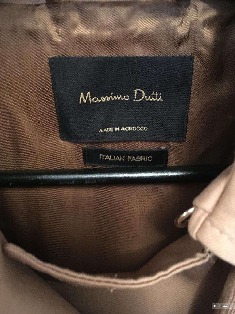 Тренч Massimo Dutti XS-S