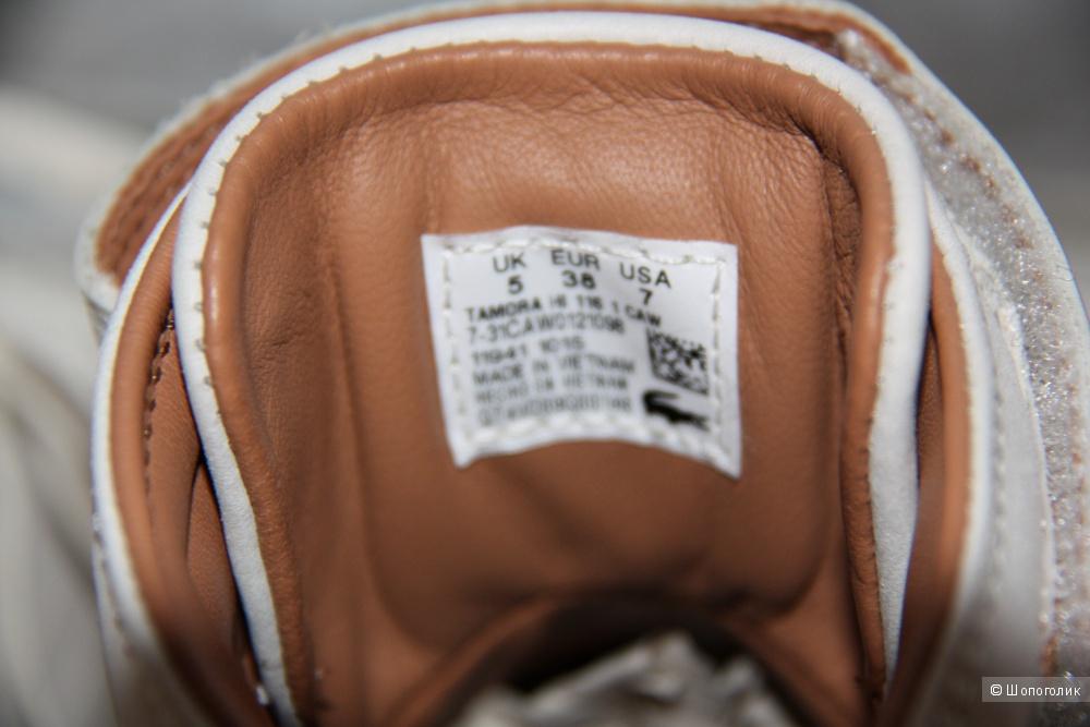 Ботинки Lacoste 38 размер