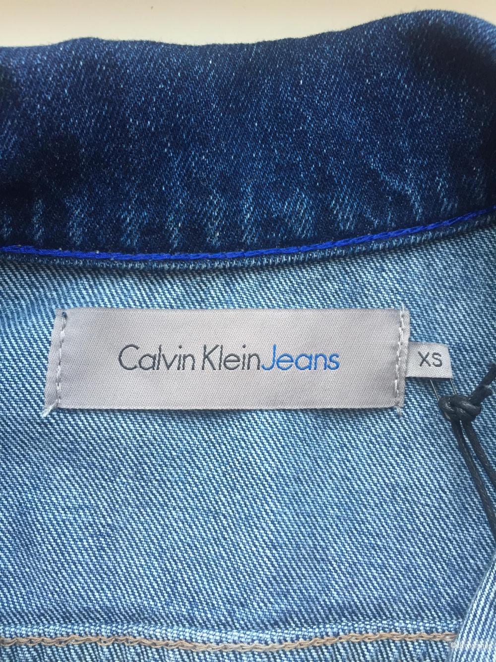 Джинсовка женская Calvin Klein, р.xs(наш р.44-46)
