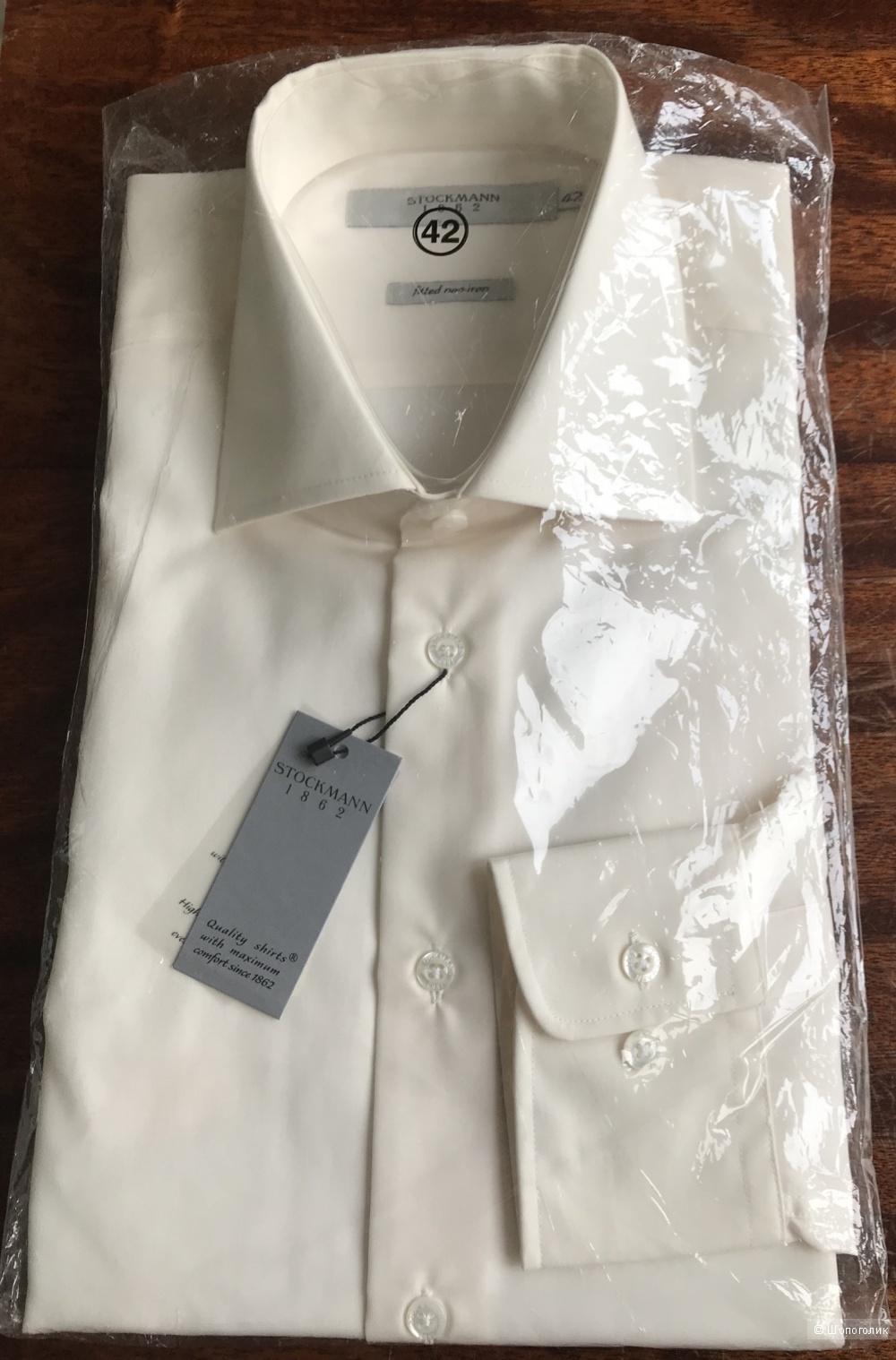 Мужская рубашка с длинным рукавом Stockmann, ворот 42