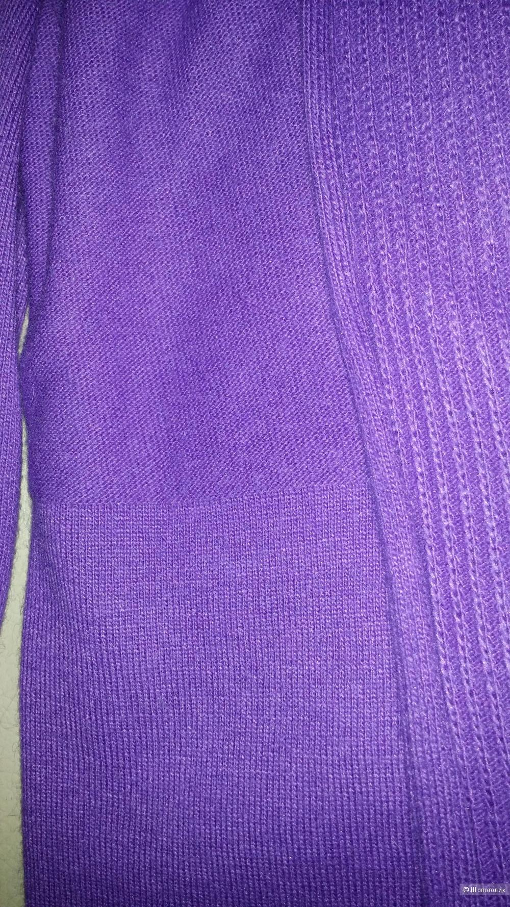 Кашемировый  фиолетовый кардиган Gerry Weber, диз 46, наш 52