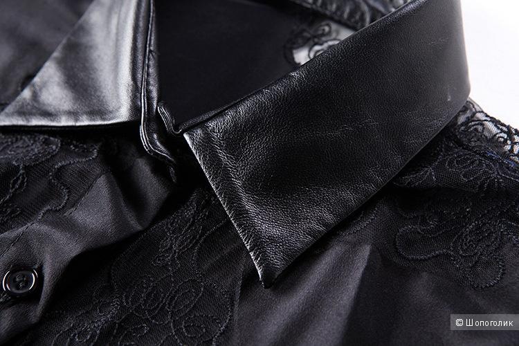Шелковая блуза style track, размер XS-S