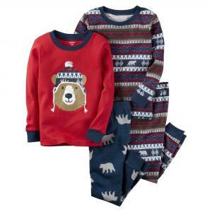 "Набор из 2 пижам Carters ""Мишка"", размер 3т (93- 98 см)"