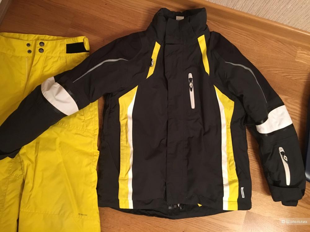 Горнолыжный сет: куртка, штаны, термобелье wedze, 128см