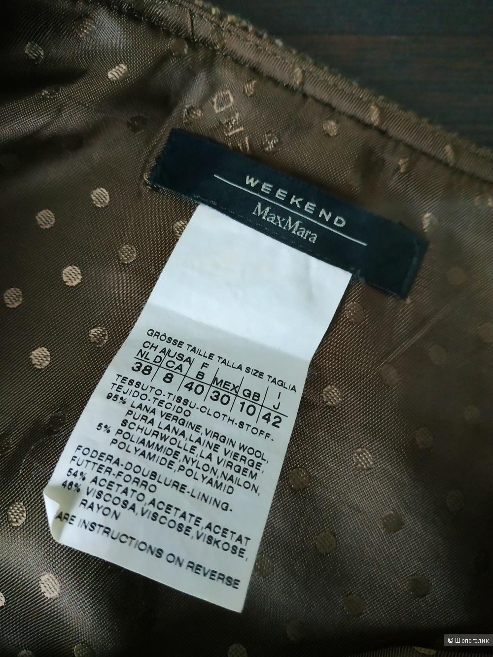 Шерстяная юбка MaxMara, размер S