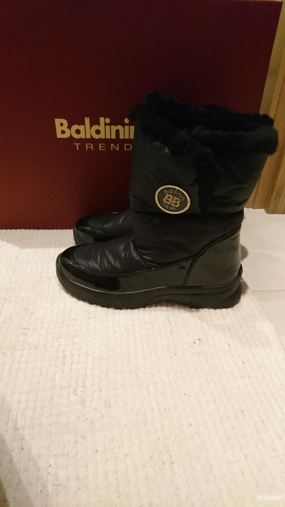 Зимние сапоги Baldinini Trend. Размер 38-39.