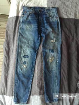 Джинсы Levi's, размер 28, винтажные линейка