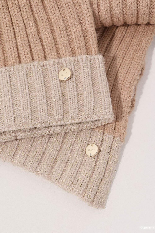 Liu Jo Milano Комплект из вязаной шапки и шарфа.