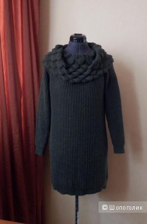 Платье-свитер no name, размер 42-46.