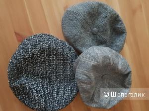 Сет из трех кепок, размер 56-57