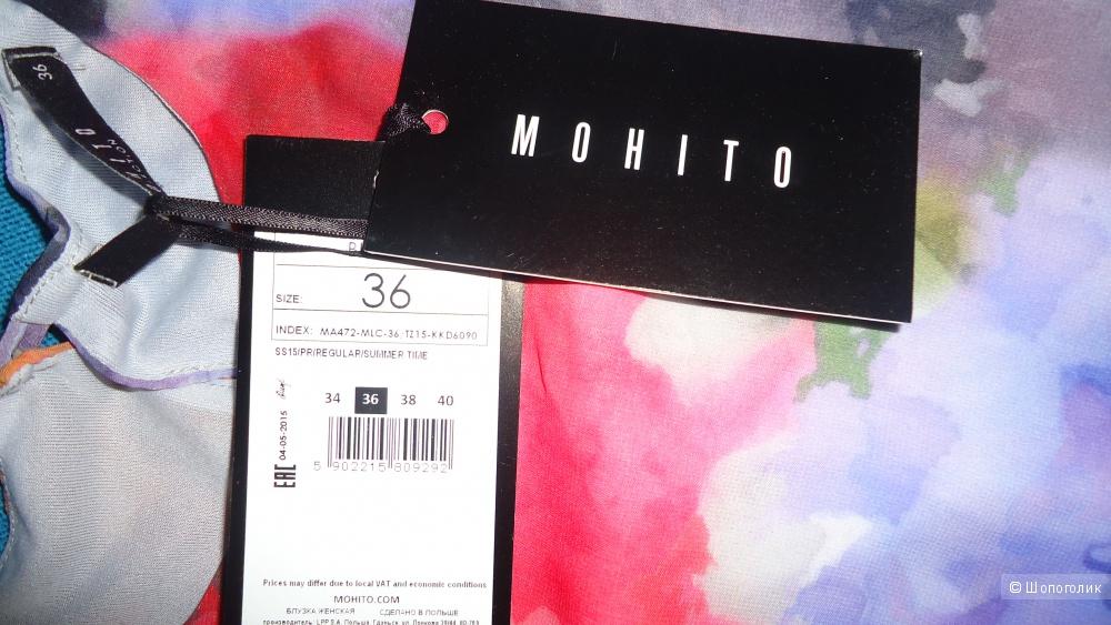 Топ Mohito. 36 размер (европейский),42-44 российский.