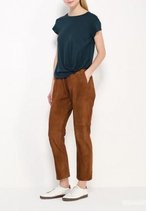 Замшевые брюки MANGO , р. L