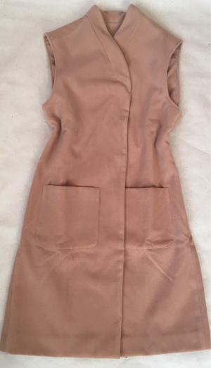 Пальто - жилет Ksenia Borodina, размеры  46, 48, 50