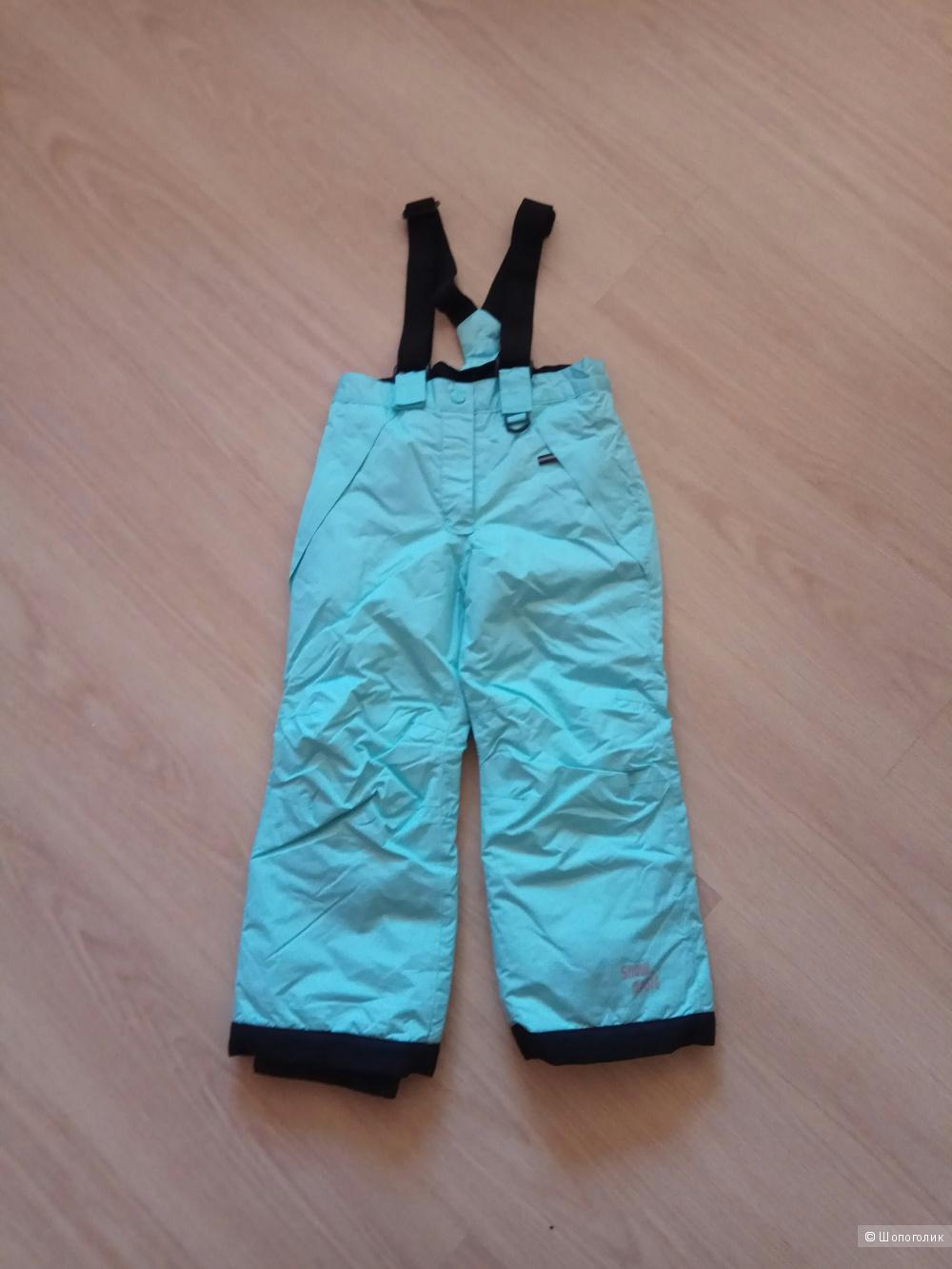 Лыжные штаны детские Lupilu размер 110-116